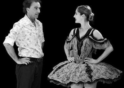 Derniers conseils en scène entre Thierry Le Floc'h et sa fille Diane